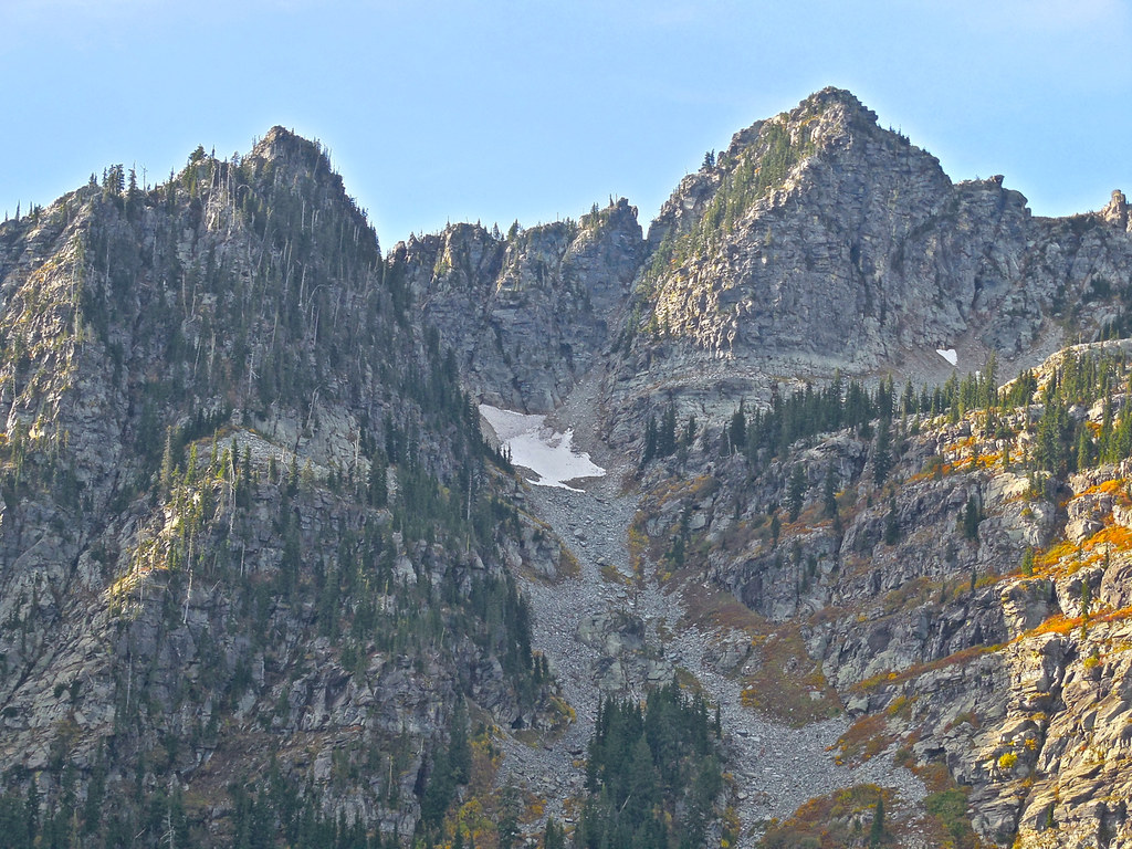 Above Lower Geiger Lake