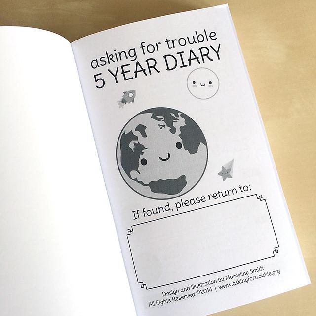 5 Year Diary - 2015-2019