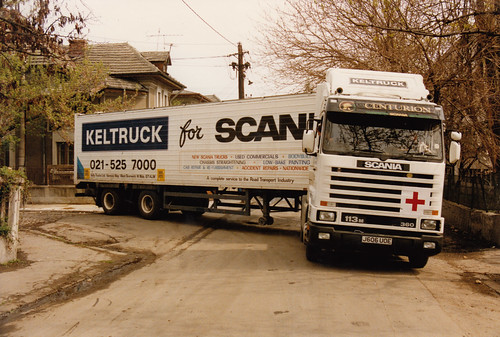 Aid mission, Romania 1992