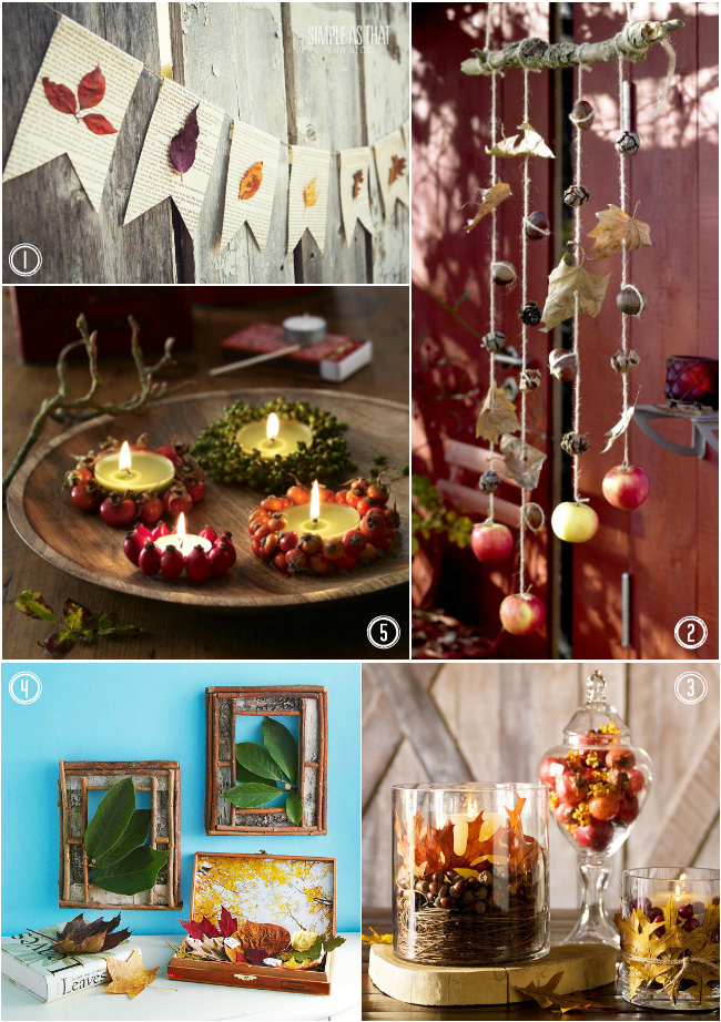 fall-home-decor-accessories-with-leaves