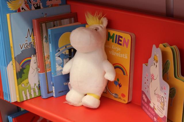 Bus Moomins - Frankfurt Buchmesse 2014