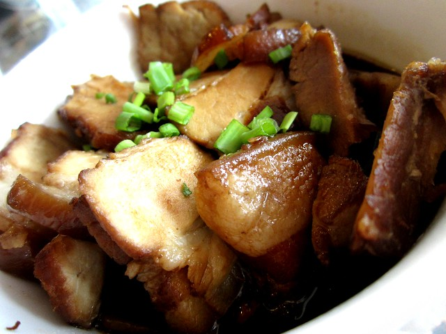 Noodle House braised pork belly
