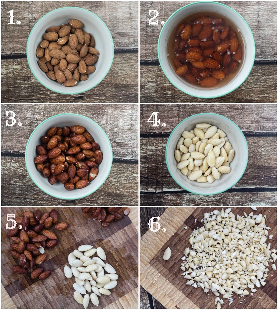 How To Guide: Skin Almonds the Easy Way