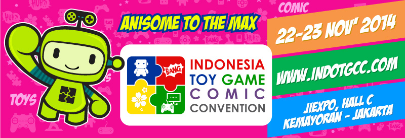 Indonesia Toy, Game, and Comic Convention 2014