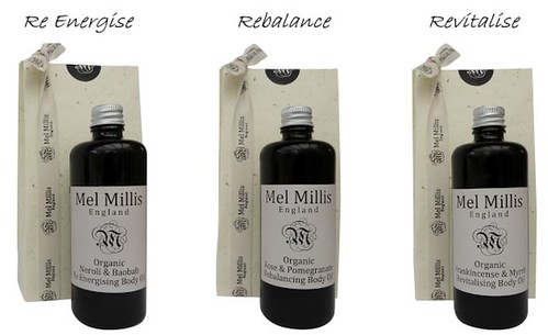 Mel Millis 3 lines of body oils