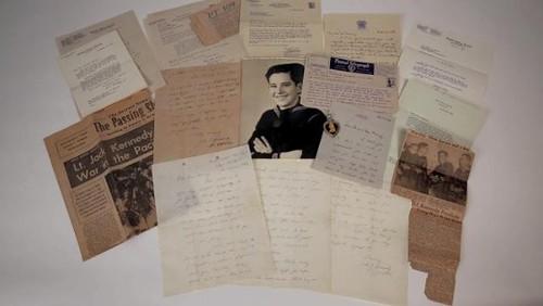 Cartas de John Kennedy a familia Marney