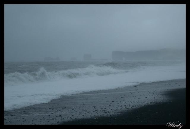 Playa Dyrhólaey desde Reynisfjara