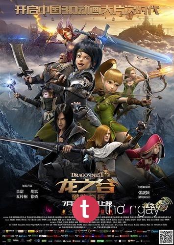 Phim Hắc Long Đe Dọa - Dragon Nest: Warriors' Dawn