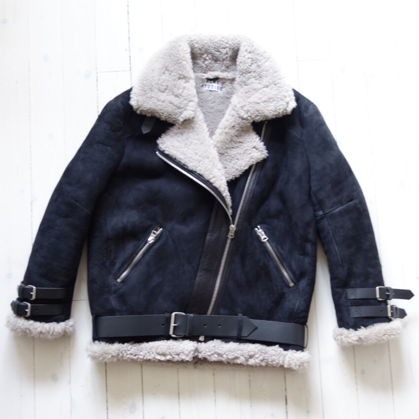 Acne Archive Velocite Shearling Jacket