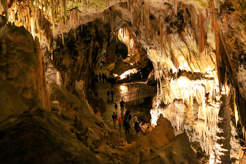 Postonja Caves Slovenia