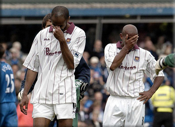 relegation 2003 west ham