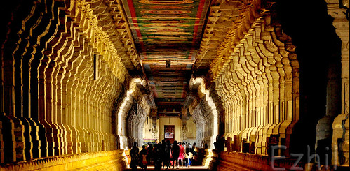 Golden corridor - Rameshwaram