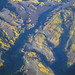 Golden aspens from 35000 feet by BWJones