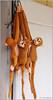 'Hanging Monkeys' - soft toys