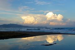 Wolken an der costa brava