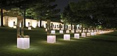 National Memorial Oklahoma City Night 1