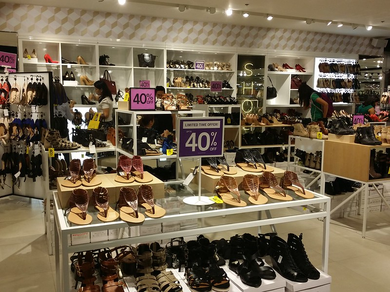Sm Department Store Shoes Section