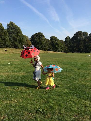 umbrellas or parasols?