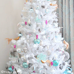 A Vintage Affair Christmas tree