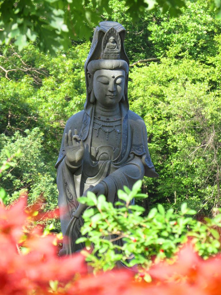 Kuan Yin of The Chuang Yen Buddhist Monastery at Carmel, NY