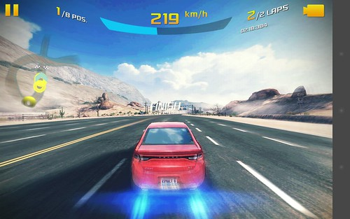 เกม Asphalt 8: Airborne บน Huawei MediaPad X1