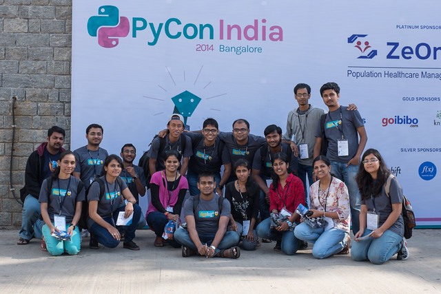 dgplug members in PyCon2014