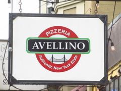 Pizzeria Avellino Sign
