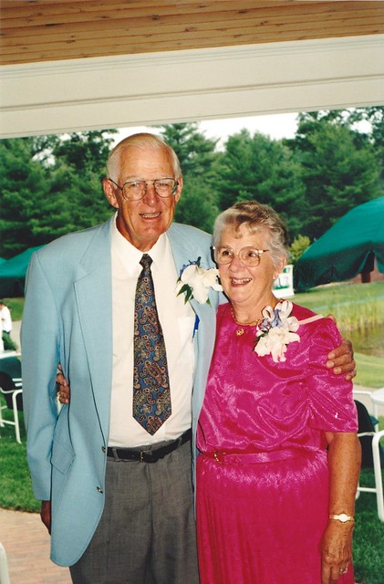 Gramma and Grampa at our wedding
