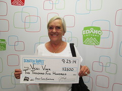 Vicki Vink - $2,500 First Class Fortune
