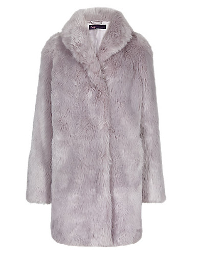 Twiggy M+S Faux Fur