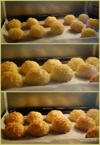 20140930 W09椰香英式馬卡龍 Coconut macaroons (椰子球)-2