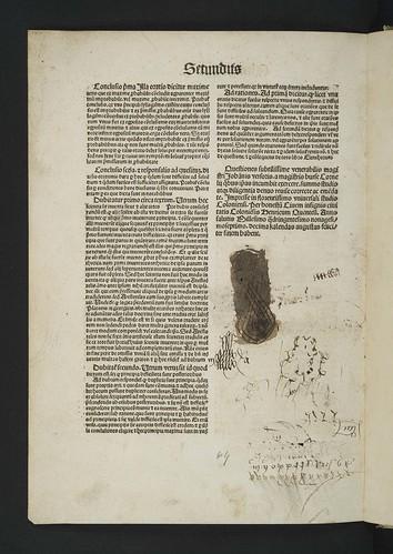Colophon and manuscript notes inVersoris, Johannes: Quaestiones super omnes libros novae logicae. Pt. II.