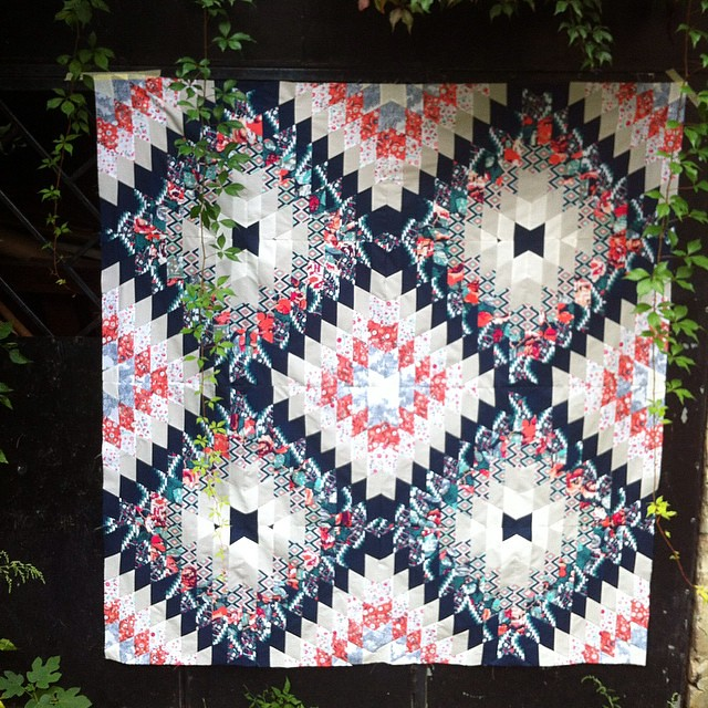 Proudly (even that there are some obvious piecing mismatching ) presenting you my #kubetaquilt top finished!!! Now about some inspiration and name info: some prints in my #recollectionfabrics are directly inspired with my homecountry rich folklore and cos