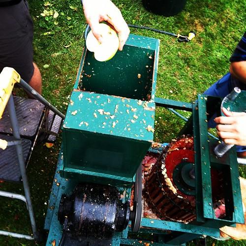 Cider Press! #washingtonapples #nature #gravestonapples #kingapples