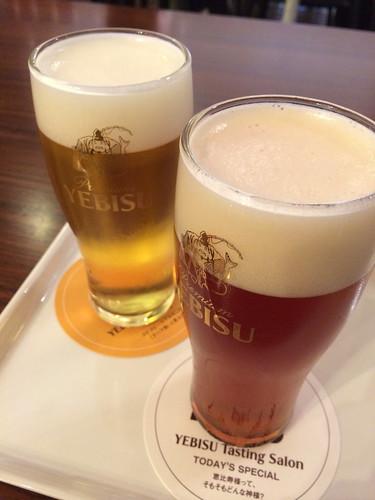 ヱビスビール記念館の限定メニュー 2014/10