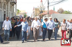 Recibimiento de la Asociación de Mocanos Ausentes desde Santo Domingo 2014