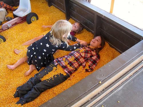 a corn pit!