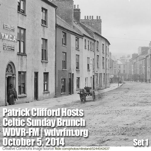 Patrick Clifford Hosts Celtic Sunday Brunch on WDVR-FM,  October 5, 2014