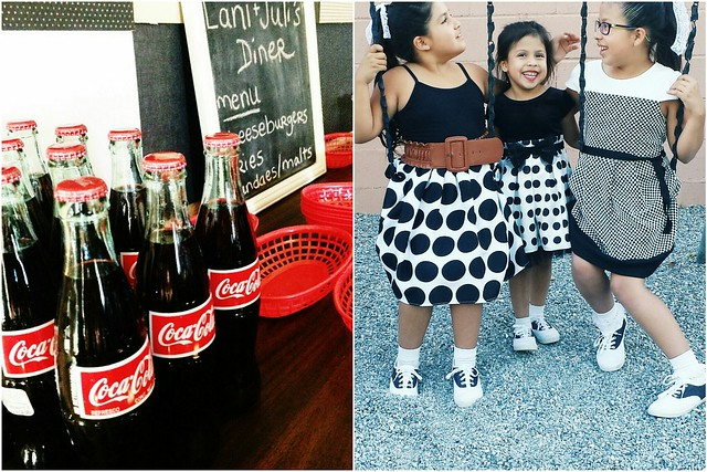 kid's birthday party idea: 50's sock hop