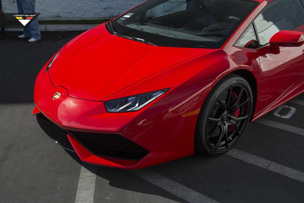 Lamborghini Huracan On Vorsteiner Wheels