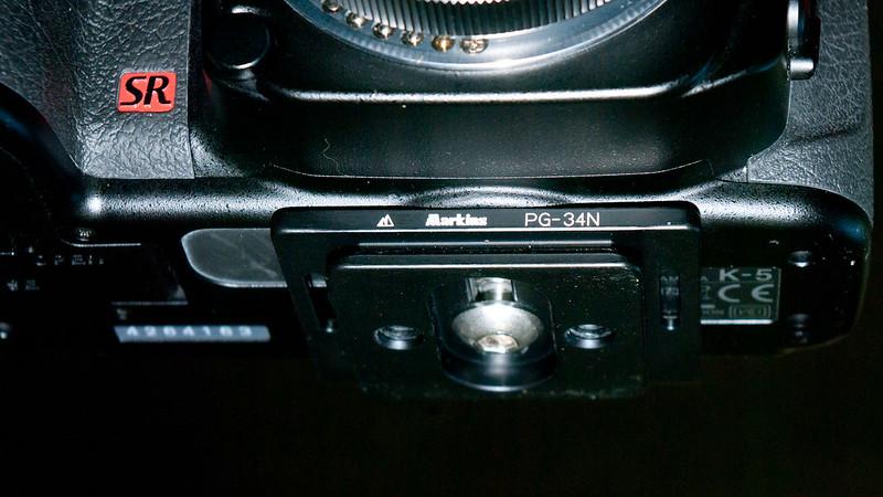 K-5適用Arca type快拆底板