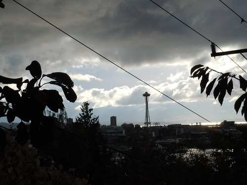 Space Needle in a Storm