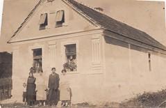 Kuća Alojza Škrobara, Novo Selo oko 1930.