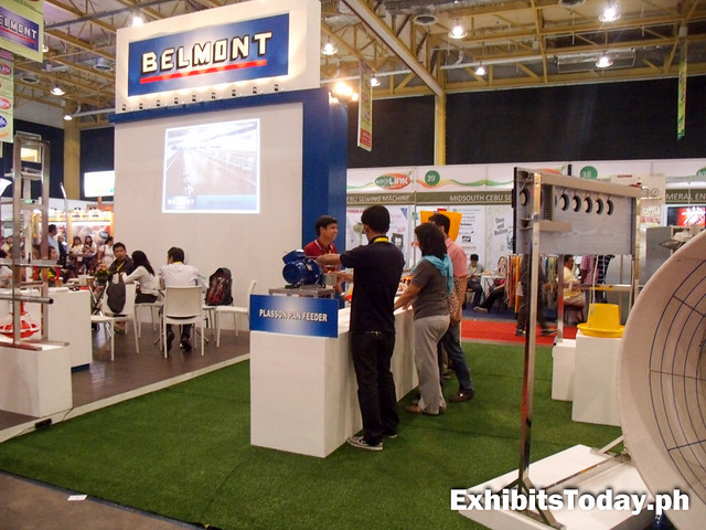 Belmont Exhibit Booth