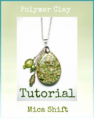 polymer clay Mica Shift Mystery Tutorial