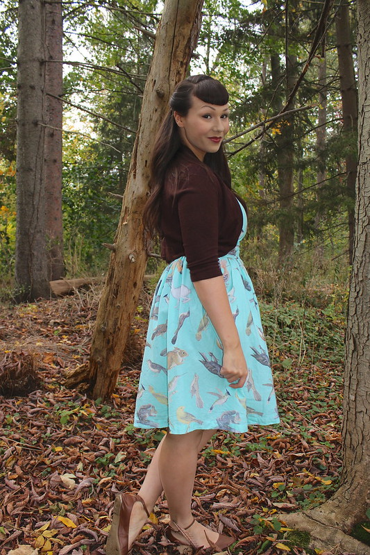 modcloth creature of the night dress