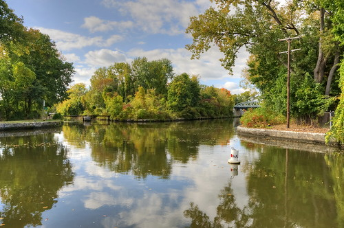 newyork fall canal us fallcolors unitedstatesofamerica september newyorkstate naturalworld hdr waterford eriecanal businessandcommerce photomatixpro acdseepro nikond700 photogeorge