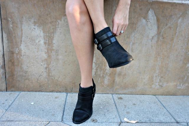 Romper and black booties 5