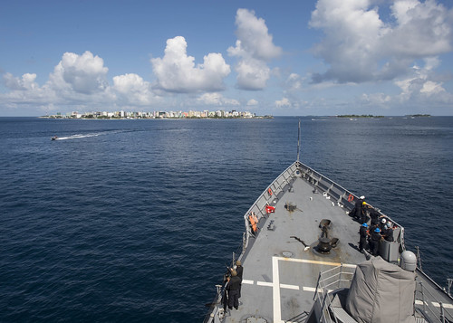 U.S. Naval Ship Visits Maldives to Foster Friendship