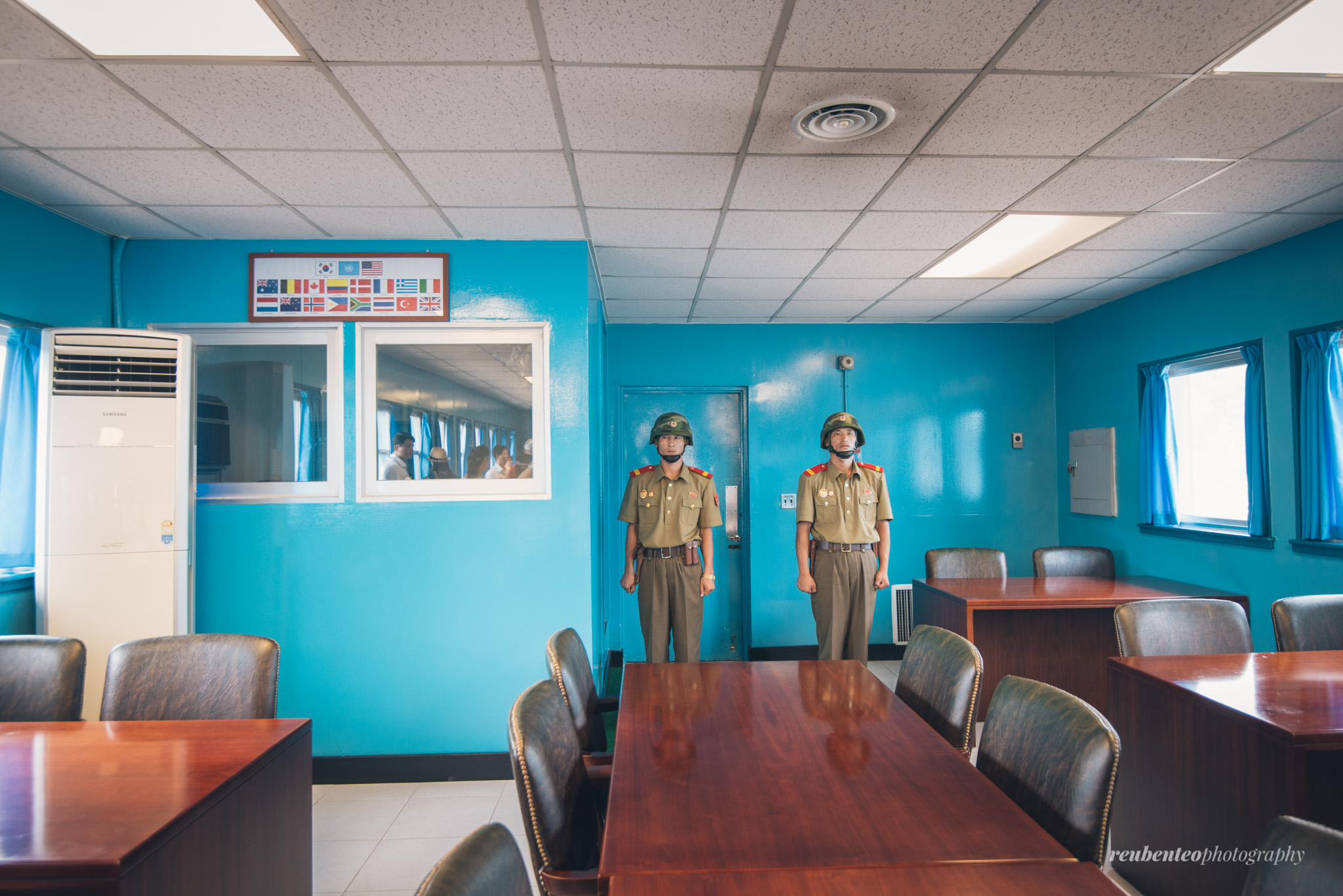 Two North Korean Guards